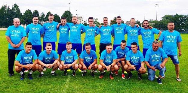 Futbalisti Vlčian triumfovali v šiestej lige.