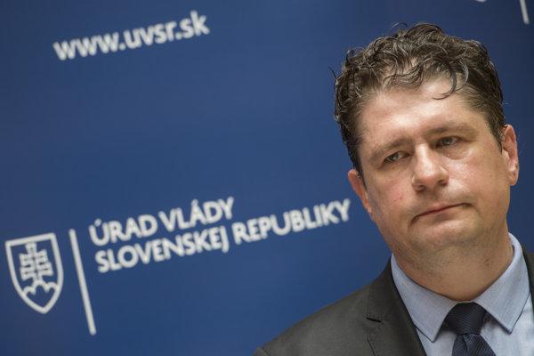 riaditeľ Agentúry pre riadenie dlhu a likvidity (ARDAL) Daniel Bytčánek.