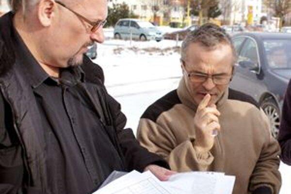 Vľavo Miroslav Bellan.