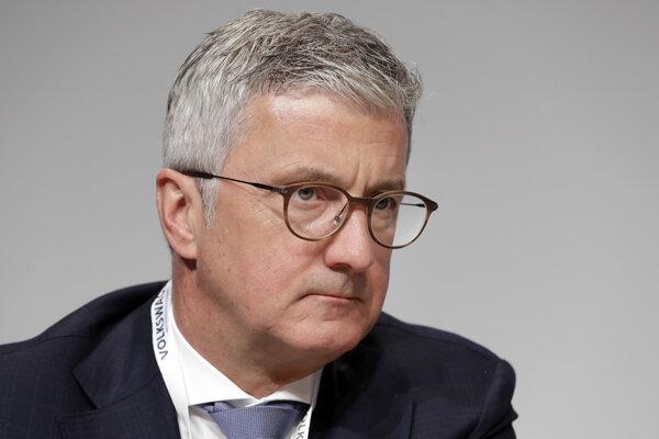 Bývalý šéf Audi Rupert Stadler.