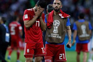 Smutní Iránci.