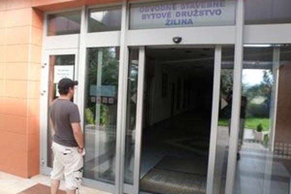 Obvodné stavebné bytové družstvo v Žiline.