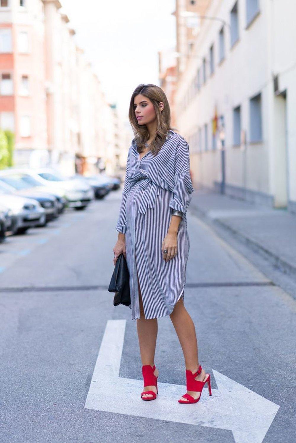 544186102f7b Ako sa obliecť v tehotenstve - fotogaléria - zena.sme.sk - Žena SME