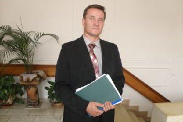 Riaditeľ dopravného podniku Ján Barienčík.