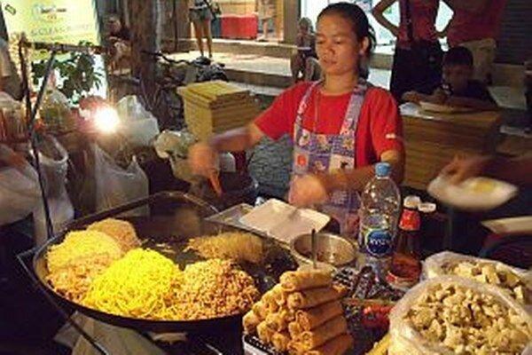 Thajčania si potrpia na čerstvú úpravu jedla