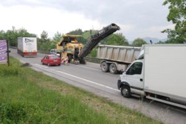 Práce sa v piatok skončia. Prejazd by mal byť bezpečnejší a rýchlejší.