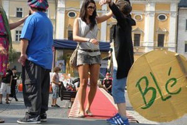 Barbora Franeková vystúpila na mólo a rozdávala radosť.