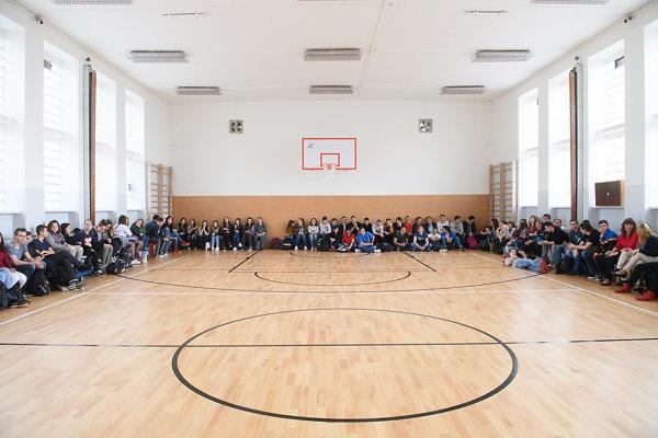 Trenčianska župa sa uchádza ovyše 650-tisíc eur na rekonštrukciu školských telocviční.