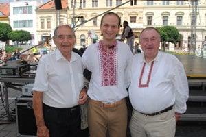 Zľava: Ladislav Matisko, Marek Mochnáč, Igor Kréta.