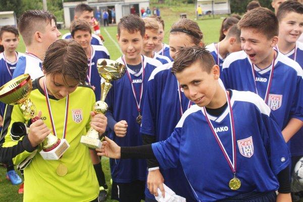 Turnaj starších žiakov vyhral tím ČFK Nitra B.