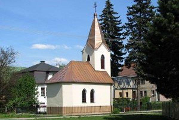 Kaplnka sv. Cyrila a Metoda v Závodí.