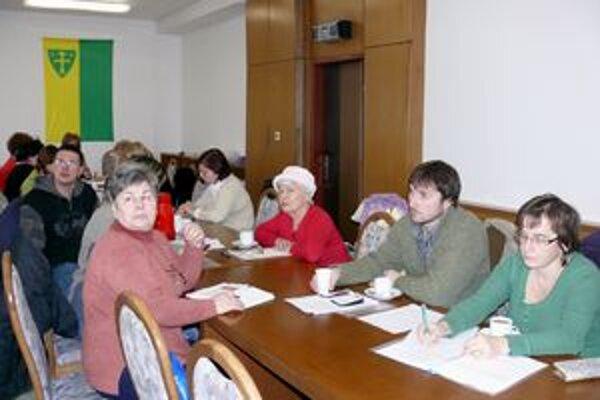 Stretnutie z komunitného plánovania 28. januára.