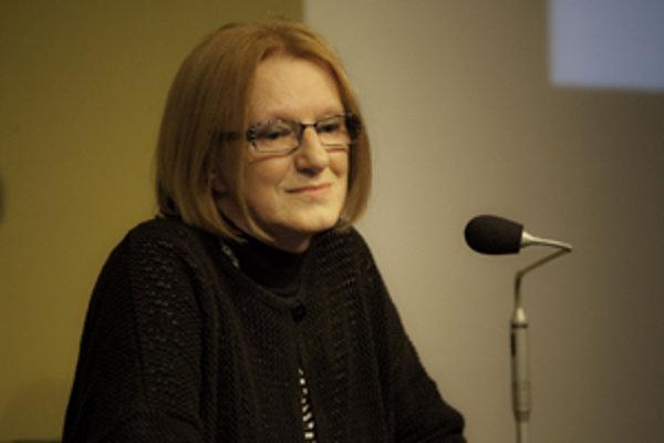 Knihárka Lida Mlichová.