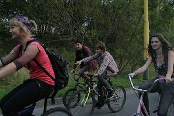 Cyklojazda po Žiline sa už stáva každoročnou tradíciou.