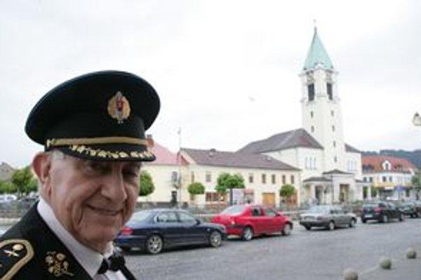 Generálmajor Ivan Schwarz v Bytči.