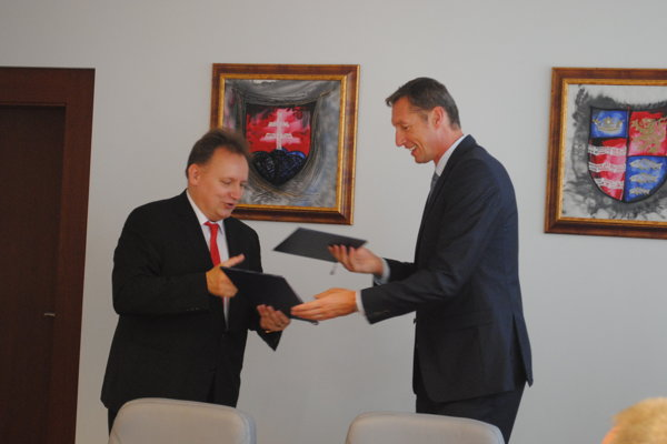Peter Kónya a Milan Majerský