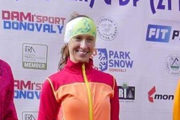 Víťazná Katarína Lamiová.