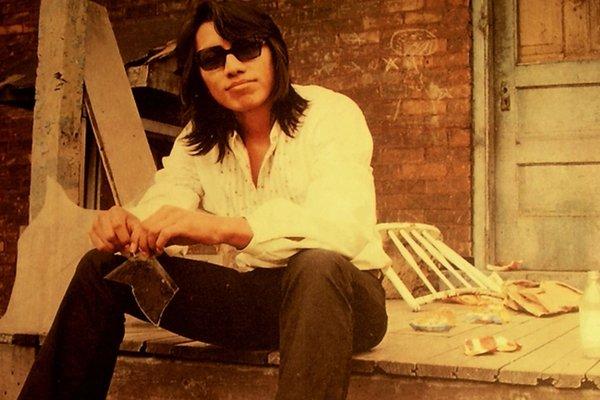 Sixto Rodriguez v mladosti.