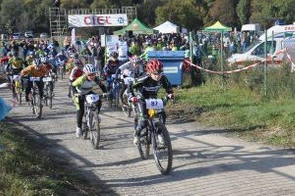 Mladí cyklisti bojovali o celkové prvenstvo
