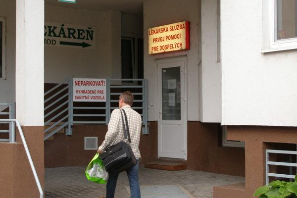 Pohotovosť v Nitre funguje v nezmenených priestoroch, na Špitálskej ulici.