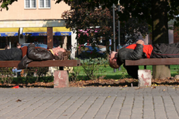 Títo ľudia by všade v Európe skončili v záchytke. Podľa riaditeľa Centra pre liečbu drogových závislostí Ivana Chabana sú záchytky v európ-