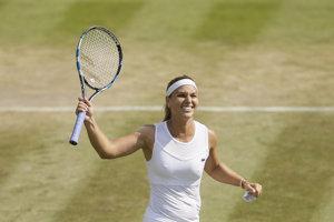 Slovenská tenistka Dominika Cibulková postúpila do osemfinále.