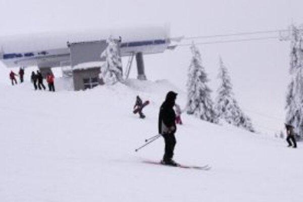 Podmienky na lyžovanie sú veľmi dobré.