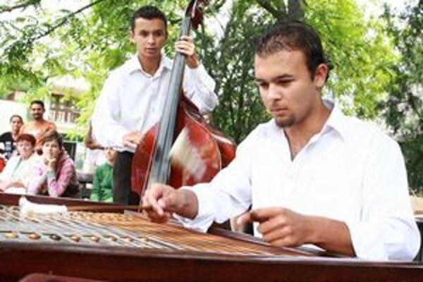 Rómske deti majú nielen hudobný talent.