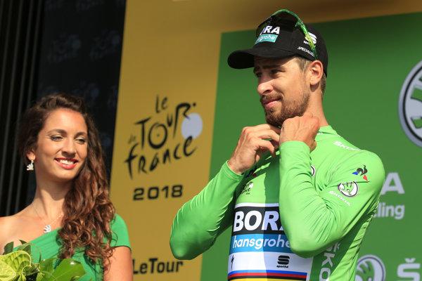 Peter Sagan si udržal zelený dres aj po 4. etape na Tour de France 2018.