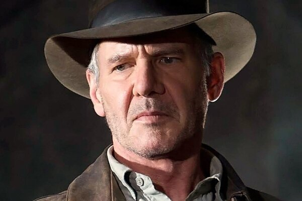 Harrison Ford ako Indiana Jones.