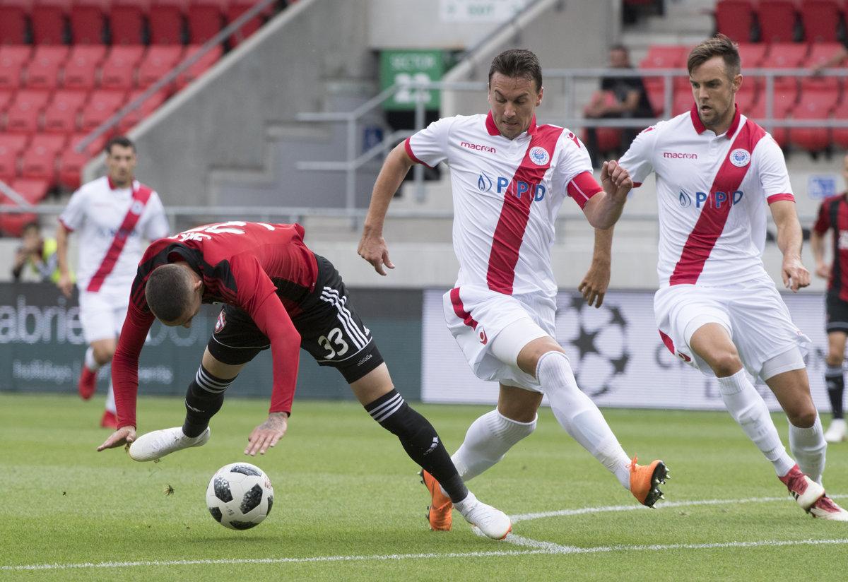 c8d8e51371 Spartak vyhral prvý zápas v Lige majstrov - SME