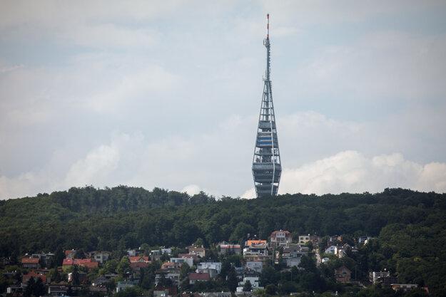 Televízna veža na Kamzíku.