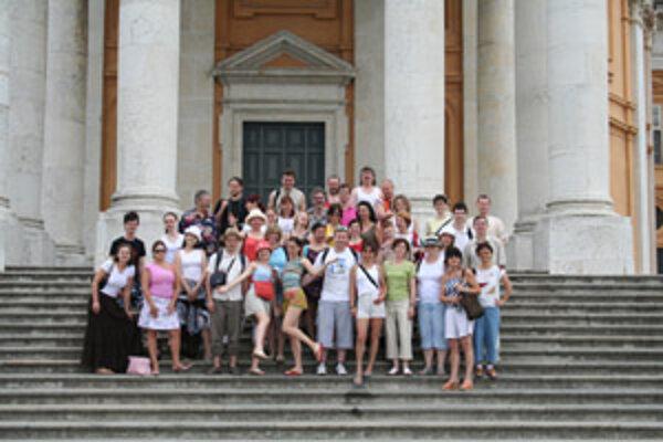 Na zájazdoch je vždy plno zábavy. Minulý rok zožal Žilinský miešaný zbor veľký úspech na koncertnom turné v Taliansku.