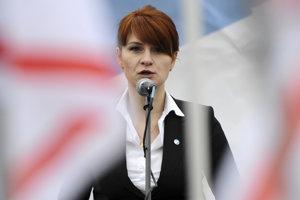 Mariu Butinovú obvinili v USA zo sprisahania.