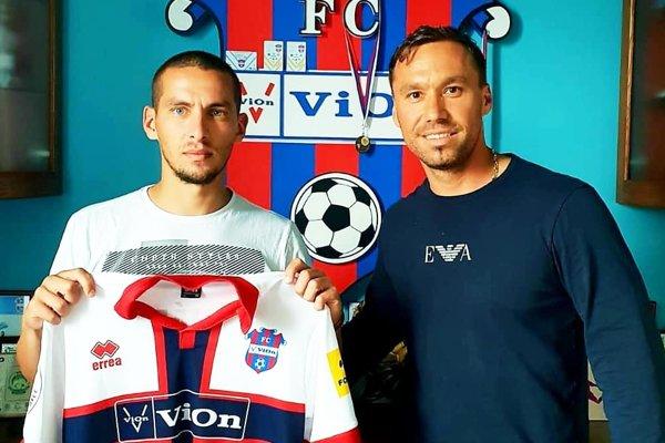 Juraj Koprda (vpravo) je novým športovým riaditeľom FC ViOn. Vľavo Jakub Brašeň, jedna z letných akvizícií.