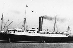 Zaoceánska loď Carpathia.