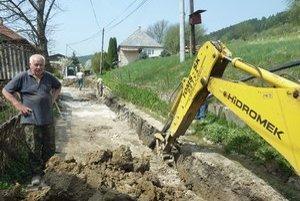 Stavba vodovodu v Jasenici môže trvať ešte veľmi dlho.