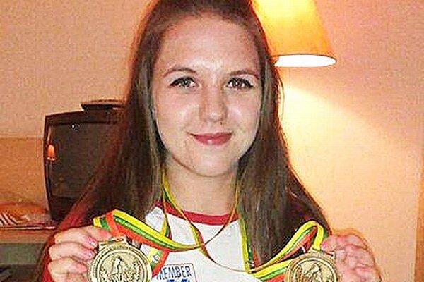 Andrea Kušnieriková pridala ku bronzovým medailám už aj striebornú z majstrovstiev.