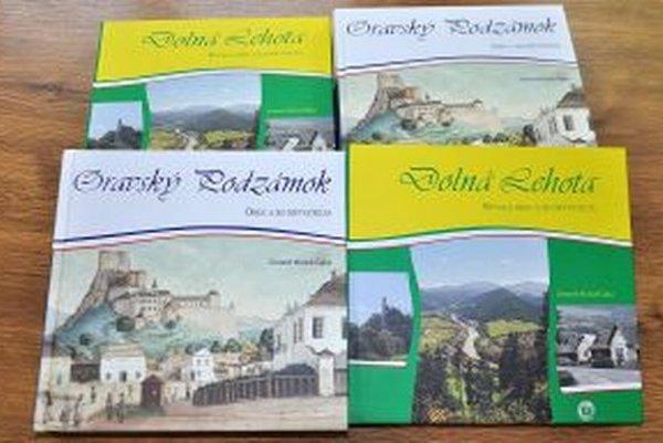 Dve monografie od Michala Čajku.