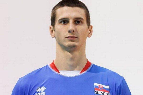 Matej Paták sa stal oporou slovenskej volejbalovej reprezentácie.