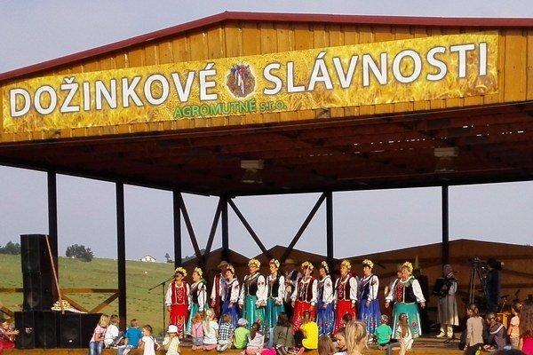 Na pódiu sa predstavili aj Bielorusi.
