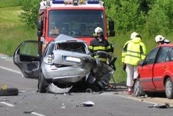 Vodič Suzuki zomrel na mieste dopravnej nehody.