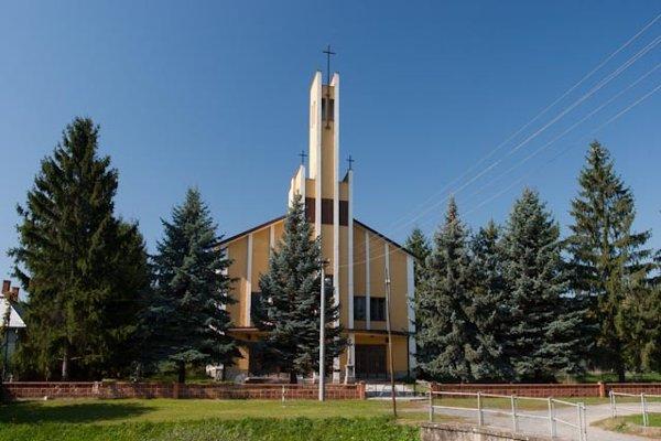 Dominantný kostol.