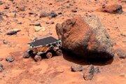 Prvý rover na Marse pristál v roku 1997. Rover Sojourner bol súčasťou misie robotickej sondy Mars Pathfinder.