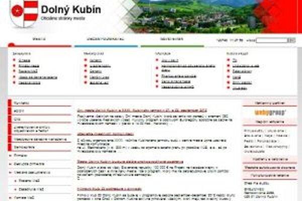 Nová webová stránka mesta je lacnejšia a prehľadnejšia.
