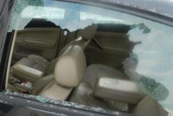 Poškodené auto