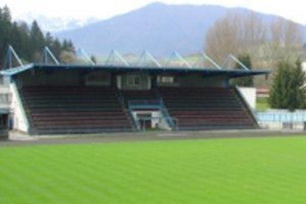 Dolnokubínsky futbalový stánok.
