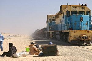 Vlaky na Mauritánskej železnici patria s dĺžkou 2,5 až tri kilometre k najdlhším na svete.