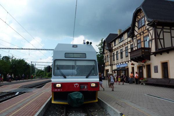Vlak TEŽ Tatranská Lomnica
