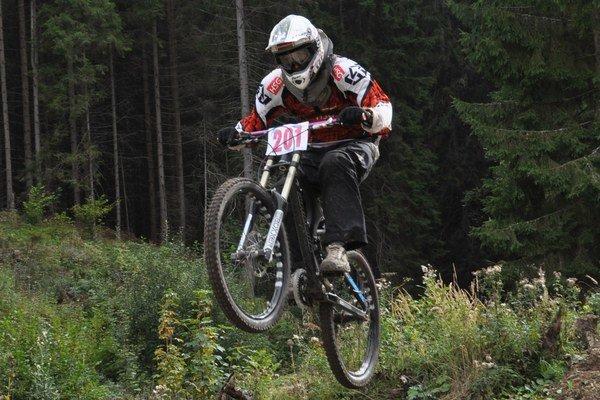 Marek Pavelek, druhý najrýchlejší zjazdový cyklista v kategórii hobby na Slovensku.